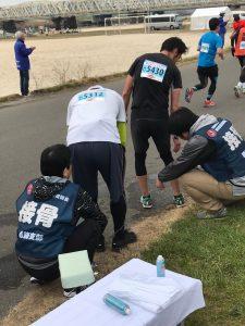 かつしかランフェスタ 2019 救護活動2