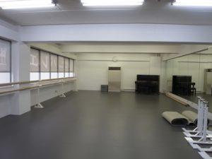 バレエスタジオ内部写真